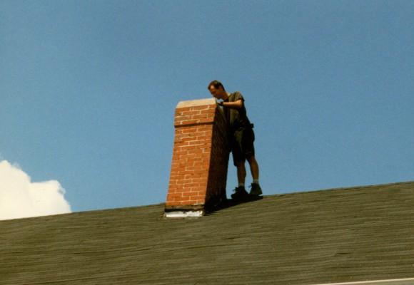 chimney inspection before chimney repair