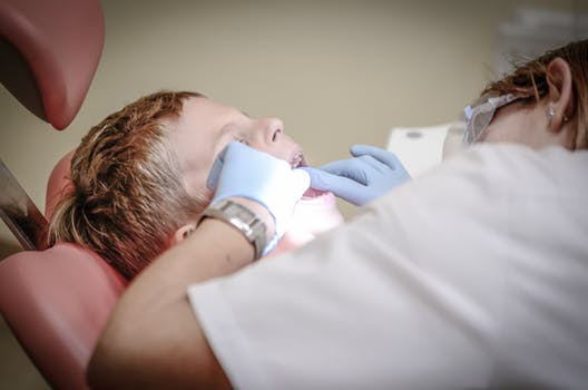 Glasgow dentist at work