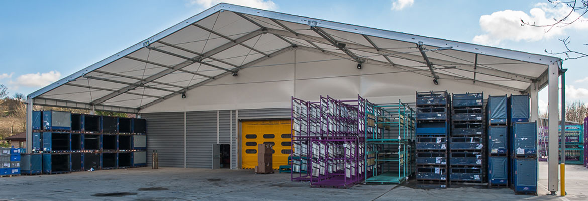 Advantages of Temporary Industrial Buildings and Warehouses